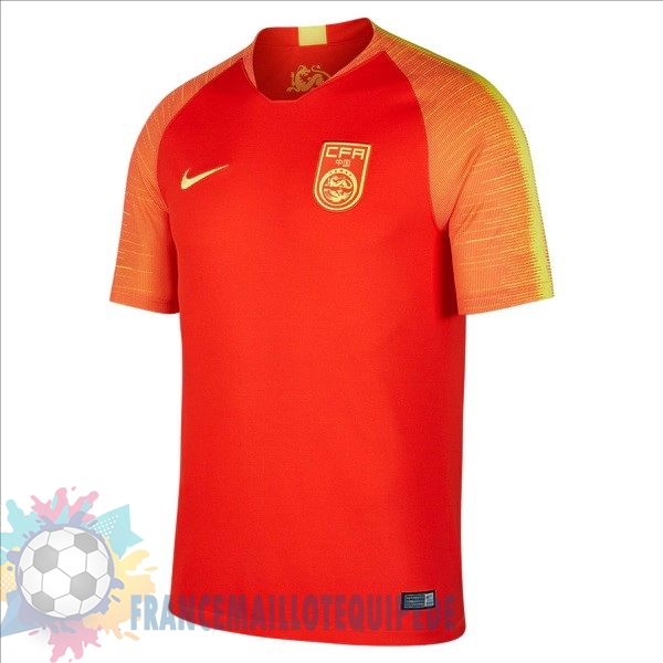 Magasin De Foot Nike Domicile Maillots Chine 2018 Rouge