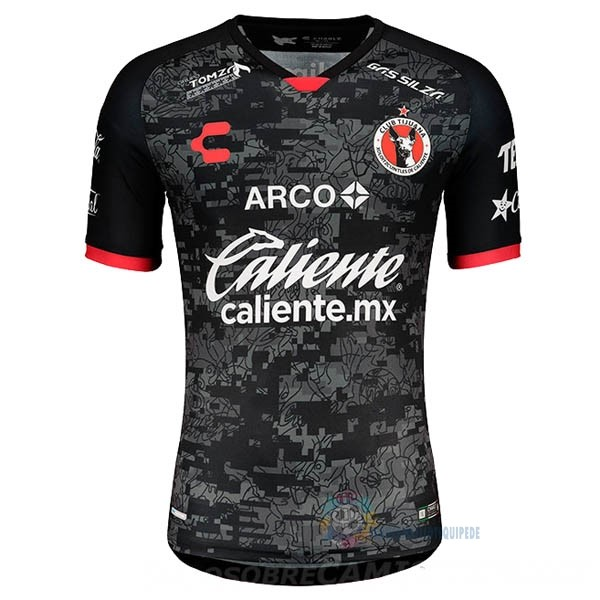 Magasin De Foot Tenis Charly Domicile Maillot Tijuana 2020 2021 Noir