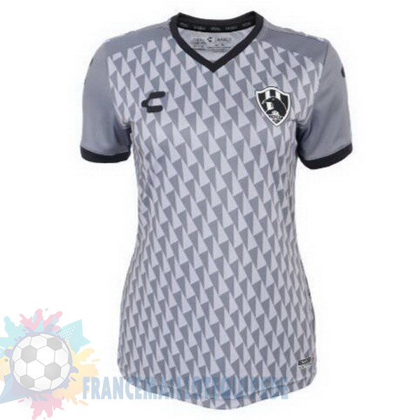 Magasin De Foot Tenis Charly Third Maillot Femme Cuervos 2019 2020 Gris