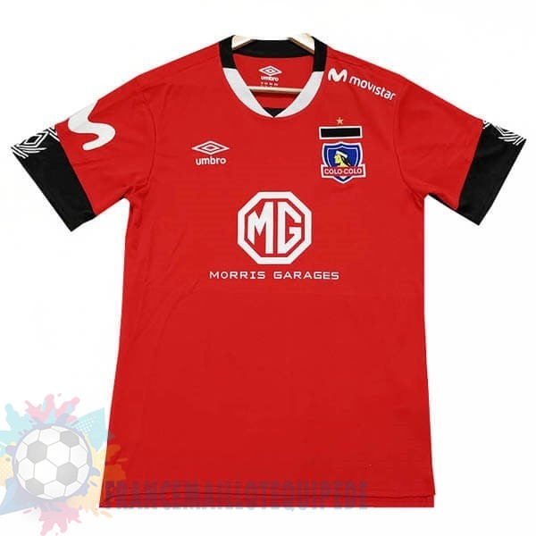 Magasin De Foot Tenis Charly Third Maillot Colo Colo 2019 2020 Rouge