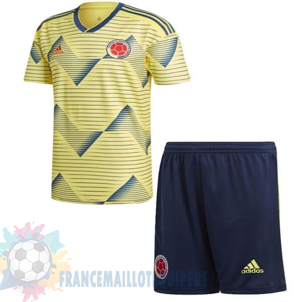 Magasin De Foot adidas Domicile Ensemble Enfant Columbia 2019 Jaune