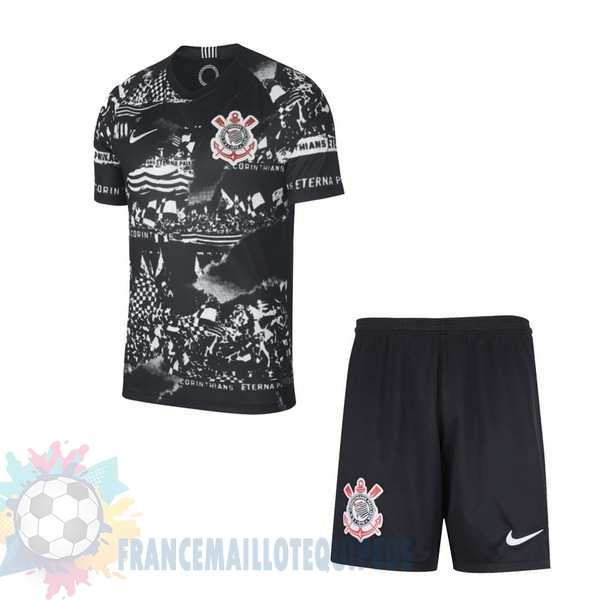 Magasin De Foot Nike Third Ensemble Enfant Corinthians Paulista 2019 2020 Noir