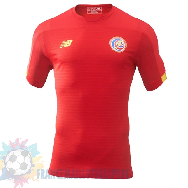 Magasin De Foot New Balance Domicile Maillot Costa Rica 2019 Rouge
