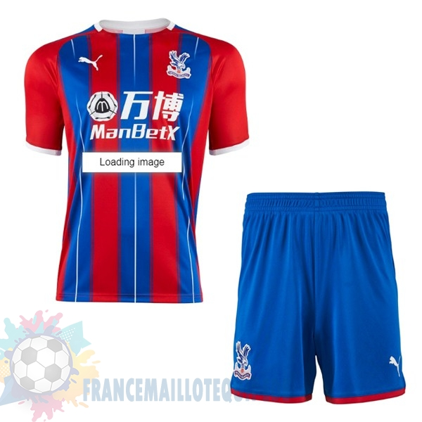 Magasin De Foot Puma Domicile Ensemble Enfant Crystal Palace 2019 2020 Rouge Bleu