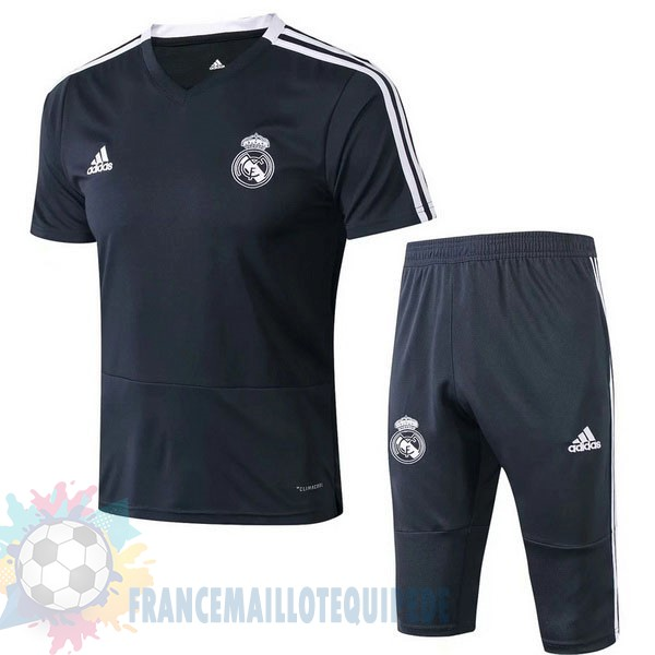 Magasin De Foot Adidas Entrainement Set Completo Real Madrid 2019 2020 Noir