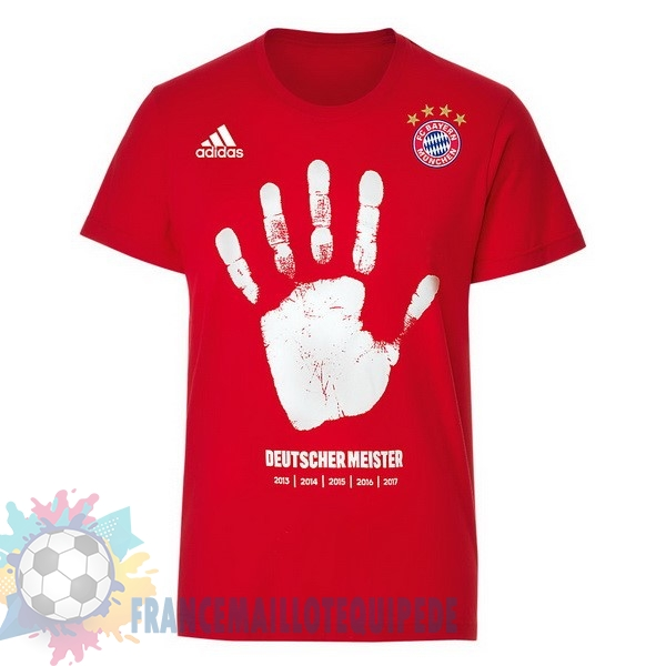 Magasin De Foot adidas Entrainement Champions Bayern Munich 2017 2018 Rouge