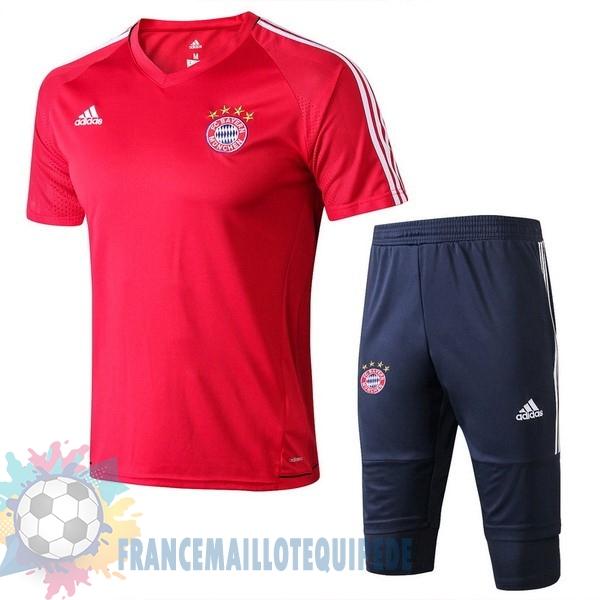 1e77569b2a50f Magasin De Foot adidas Entrainement Ensemble Bayern Munich 2017 2018 Rouge  Bleu