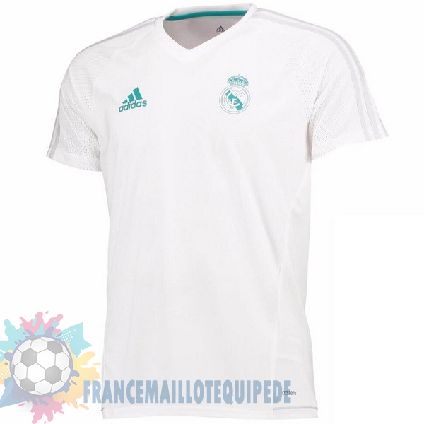 Magasin De Foot adidas Entrainement Real Madrid 2017 2018 Blanc