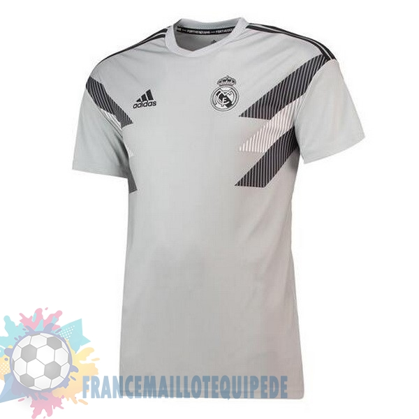 Magasin De Foot adidas Entrainement Real Madrid 2018-2019 Gris