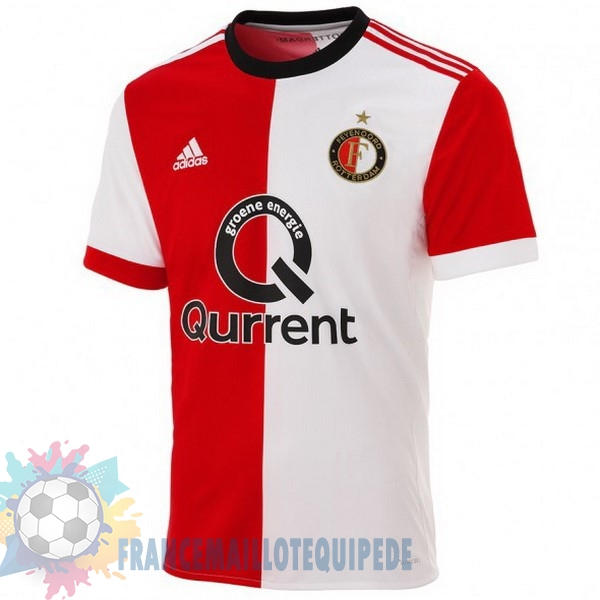 Magasin De Foot adidas Domicile Maillots Feyenoord Rotterdam 2017 2018 Rouge