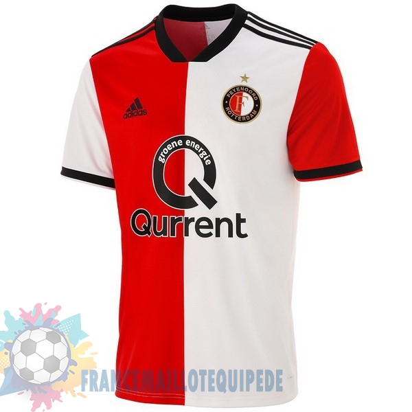 Magasin De Foot adidas Domicile Maillots Feyenoord Rotterdam 2018-2019 Rouge