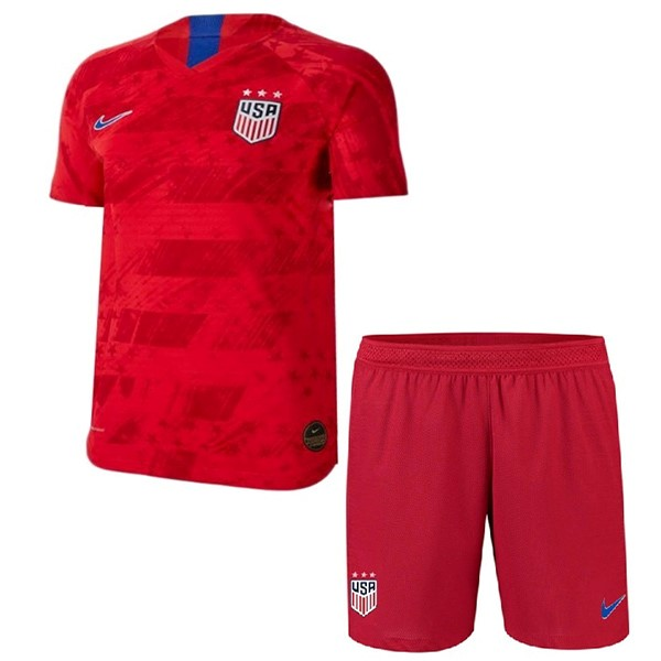 Magasin De Foot Nike Exterieur Ensemble Enfant Estados Unidos 2019 Rouge