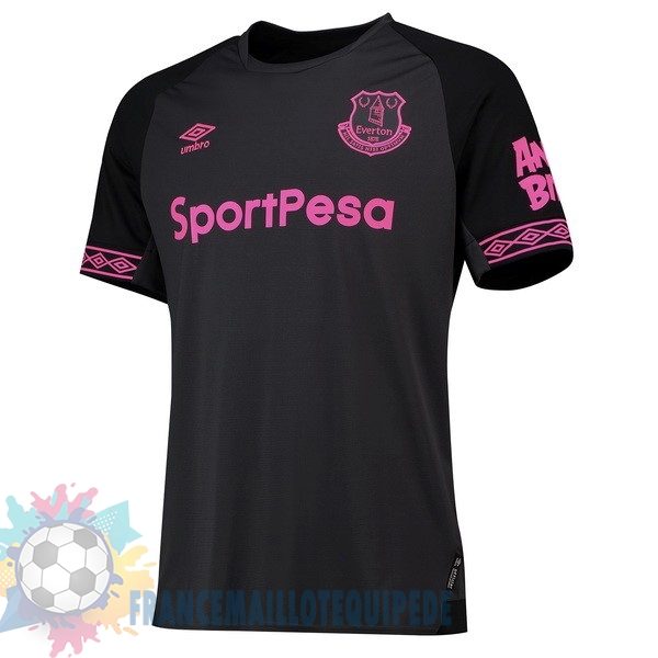 Magasin De Foot umbro Exterieur Maillots Everton 2018-2019 Noir