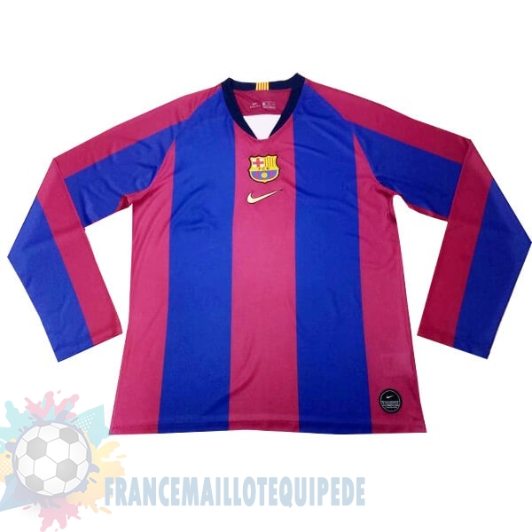 Magasin De Foot Nike Maillot Manches Longues Barcelona 120th Bleu Rouge