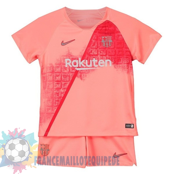 Magasin De Foot Nike Third Ensemble Enfant Barcelona 2018-2019 Rouge