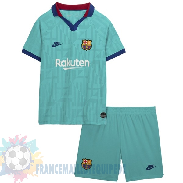 Magasin De Foot Nike Third Ensemble Enfant Barcelona 2019 2020 Vert