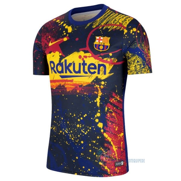 Magasin De Foot Nike Pre Match Maillot Barcelone 2020 Rouge Bleu