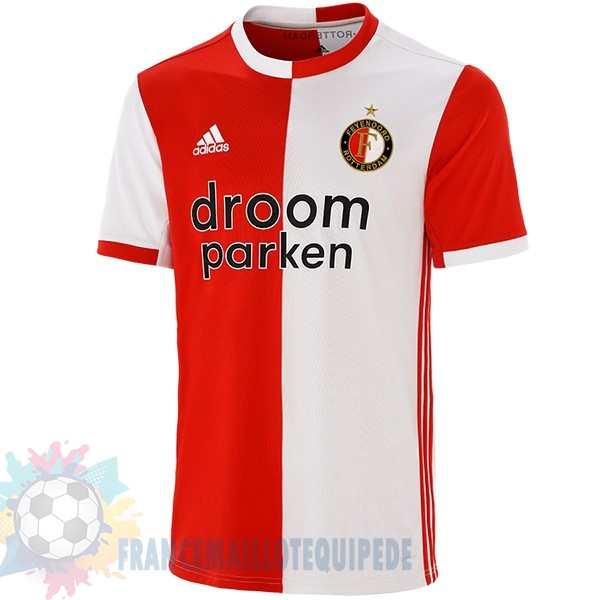 Magasin De Foot adidas Domicile Maillot Feyenoord Rotterdam 2019 2020 Rouge
