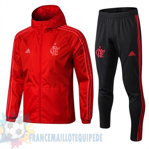 Magasin De Foot adidas Ensemble Coupe Vent Flamengo 2018 2019 Rouge