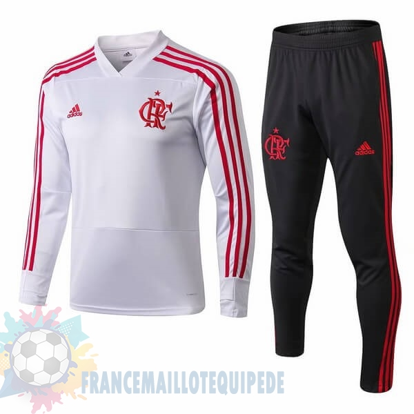 Magasin De Foot adidas Survêtements Flamengo 2018 2019 Blanc Rouge