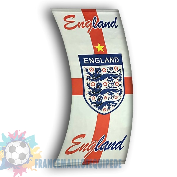 Magasin De Foot Football Drapeau de Angleterre Blanc