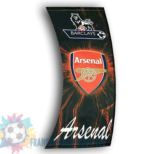 Magasin De Foot Football Drapeau de Arsenal Noir