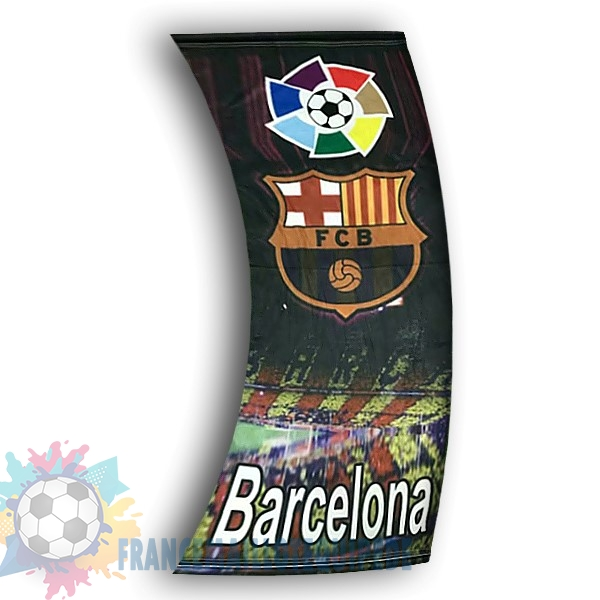 Magasin De Foot Football Drapeau de Barcelona Noir