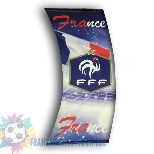 Magasin De Foot Football Drapeau de France Bleu