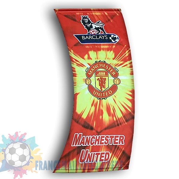 Magasin De Foot Football Drapeau de Manchester United Rouge