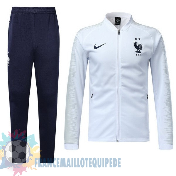Magasin De Foot Nike Championne du Monde Survêtements Enfant France 2018 Blanc
