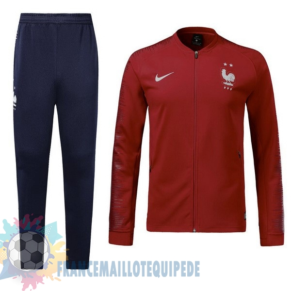 Magasin De Foot Nike FIFA Survêtements Enfant France 2018 Rouge