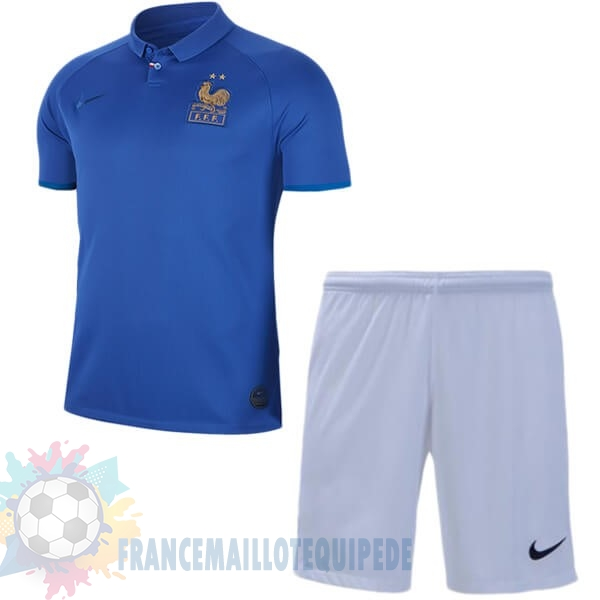 Magasin De Foot Nike Ensemble Enfant France 100th Bleu