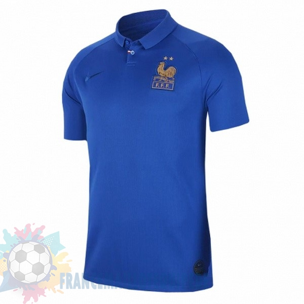 Magasin De Foot Nike Maillot Femme France 100th Bleu