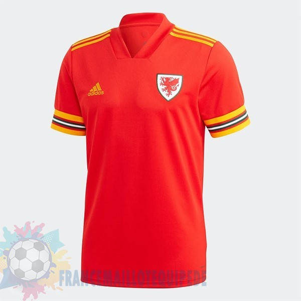 Magasin De Foot adidas Domicile Maillot Gales 2020 Rouge