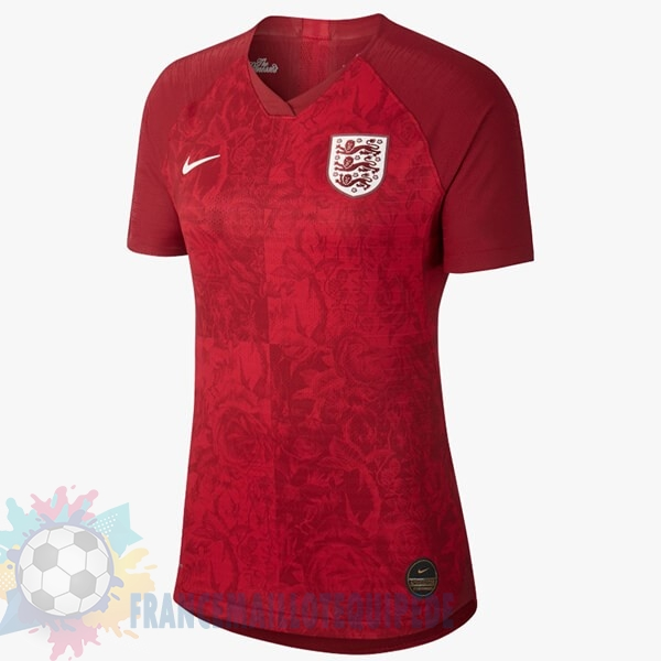 Magasin De Foot Nike Exterieur Maillot Femme Angleterre 2019 Rouge