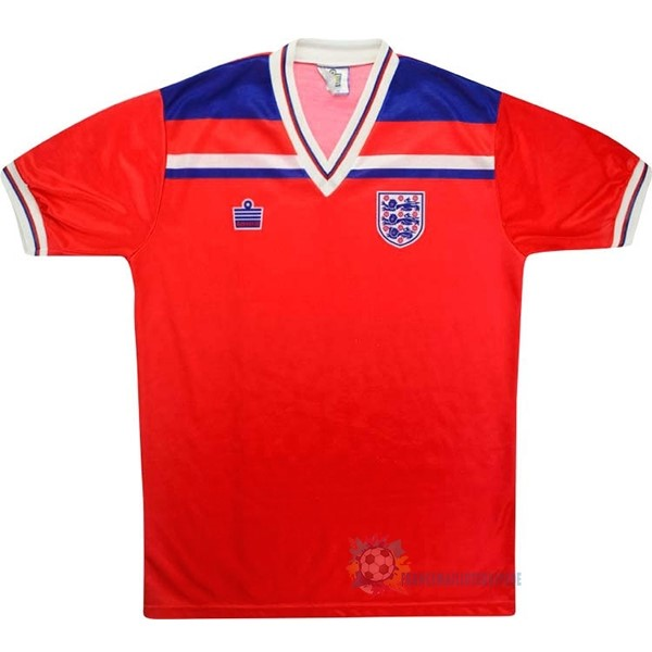 Magasin De Foot Admiral Exterieur Maillot Angleterre Rétro 1980 Rouge
