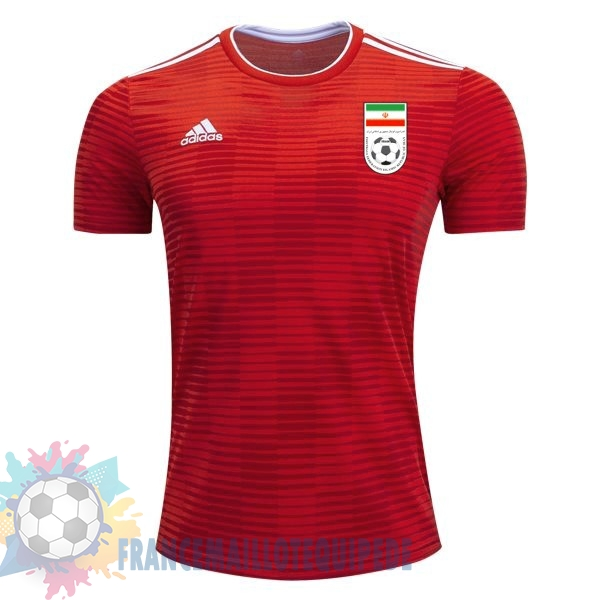 Magasin De Foot adidas Exterieur Maillots Iran 2018 Rouge