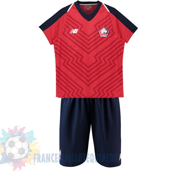 Magasin De Foot New Balance DomiChili Conjunto De Enfant Lille 2018 2019 Rouge