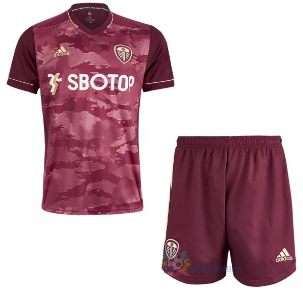 Magasin De Foot adidas Third Maillot Conjunto De Enfant Leeds United 2020 2021 Bordeaux