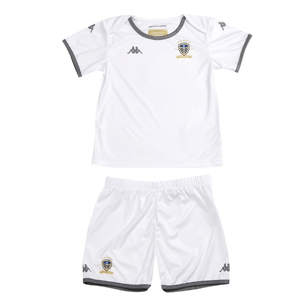 Magasin De Foot Kappa Domicile Maillot Ensemble Enfant Leeds United 2019 2020 Blanc
