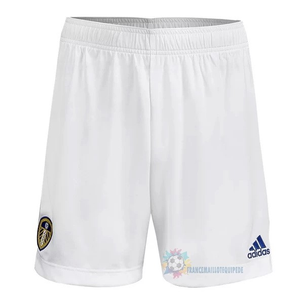 Magasin De Foot adidas Domicile Pantalon Leeds United 2020 2021 Blanc