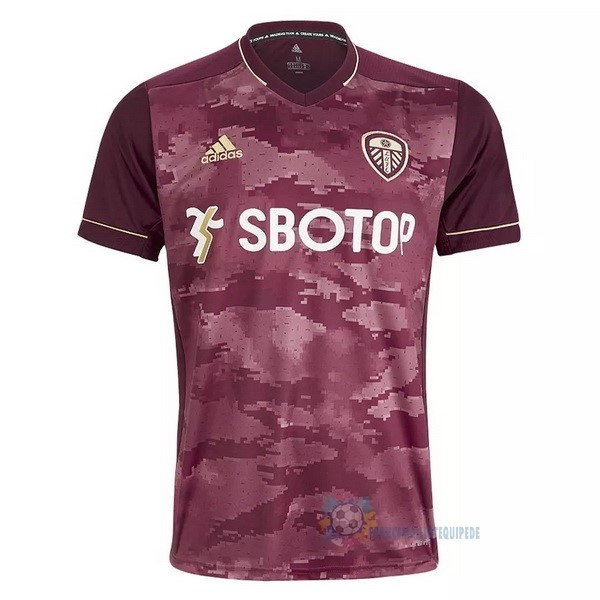 Magasin De Foot adidas Third Maillot Leeds United 2020 2021 Rouge