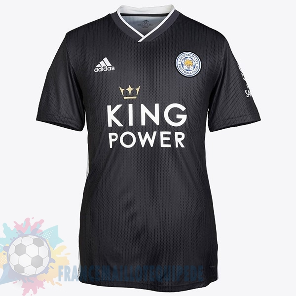 Magasin De Foot adidas Third Maillot Femme Leicester City 2019 2020 Noir