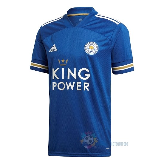 Magasin De Foot adidas Domicile Maillot Leicester City 2020 2021 Bleu