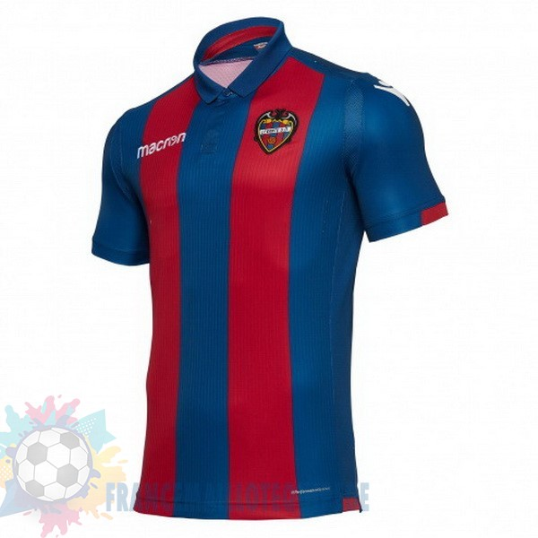 Magasin De Foot Macron DomiChili Maillot Levante 2018 2019 Bleu Rouge