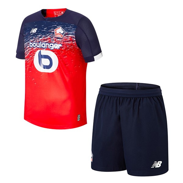Magasin De Foot New Balance Domicile Ensemble Enfant Lille 2019 2020 Rouge