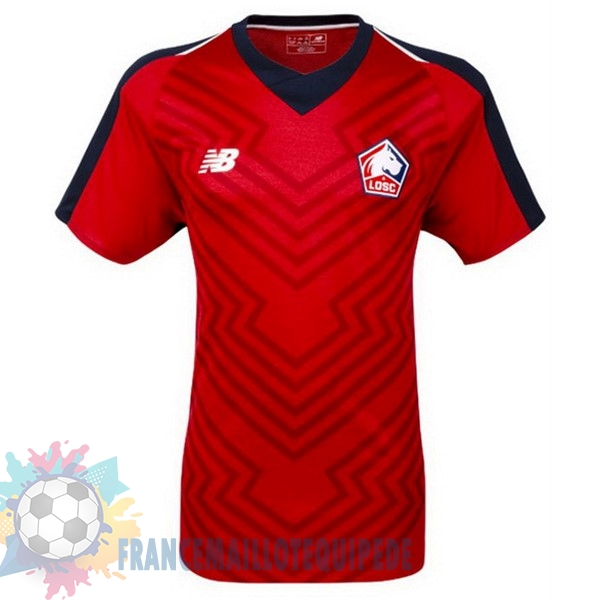 Magasin De Foot New Balance Domicile Maillots LOSC 18-19 Rouge