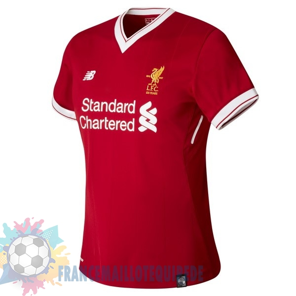 Magasin De Foot New Balance Domicile Maillots Femme Liverpool 2017 2018 Rouge
