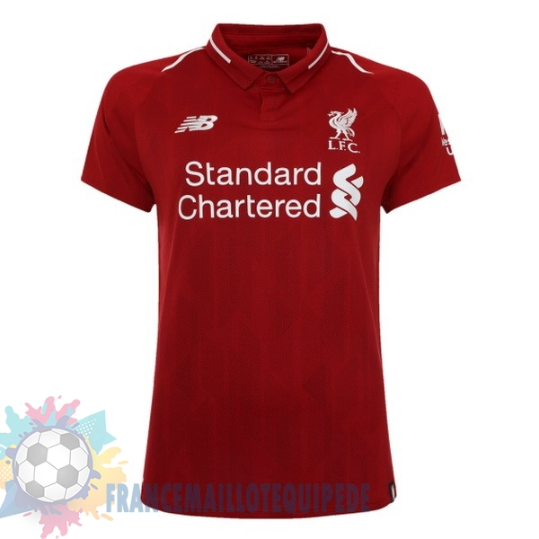 Magasin De Foot New Balance Domicile Maillots Femme Liverpool 2018 2019 Rouge