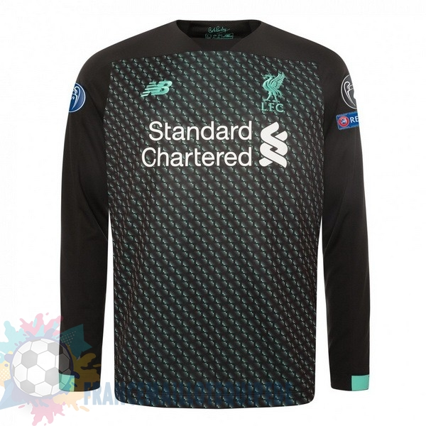 Magasin De Foot New Balance Third Manches Longues Liverpool 2019 2020 Noir